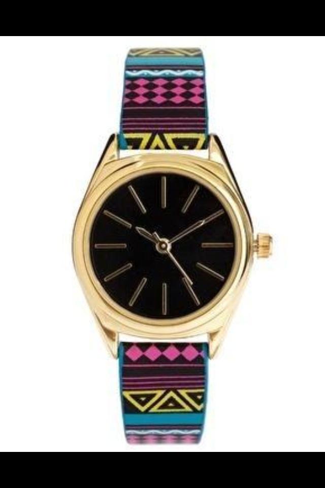 #watch #relogio #tribal #etnic #fashion