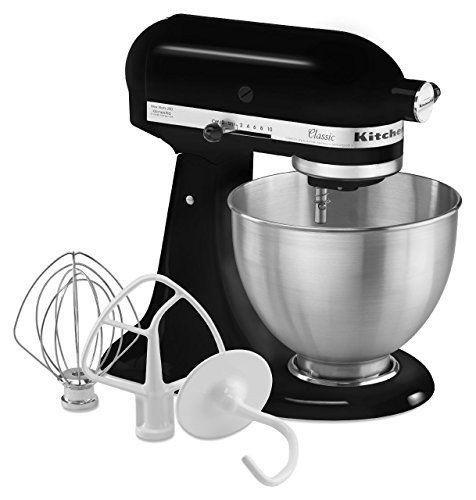 News KitchenAid K45SSOB 4.5-Quart Classic Series Stand Mixer, Onyx Black   buy now     Too low to display The KitchenAid Classic Series Tilt-Head Stand Mixer is for your standard recipes. The 4.5-quart stainless steel mi... http://showbizlikes.com/kitchenaid-k45ssob-4-5-quart-classic-series-stand-mixer-onyx-black/