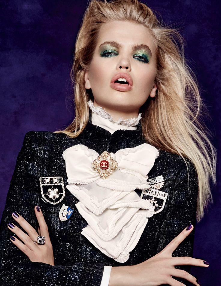 """Daphne Groeneveld """" I Am a Superstar """" by Jason Kibbler Vogue Russia August 2015"""
