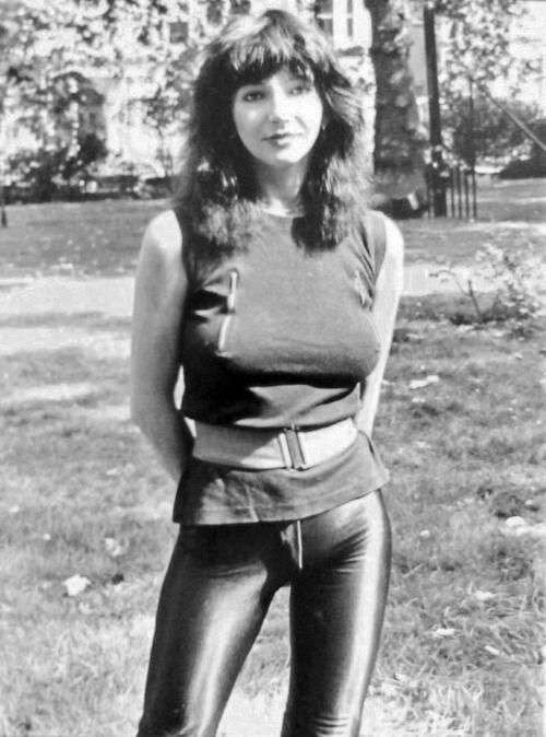 Kate Bush back in the day.