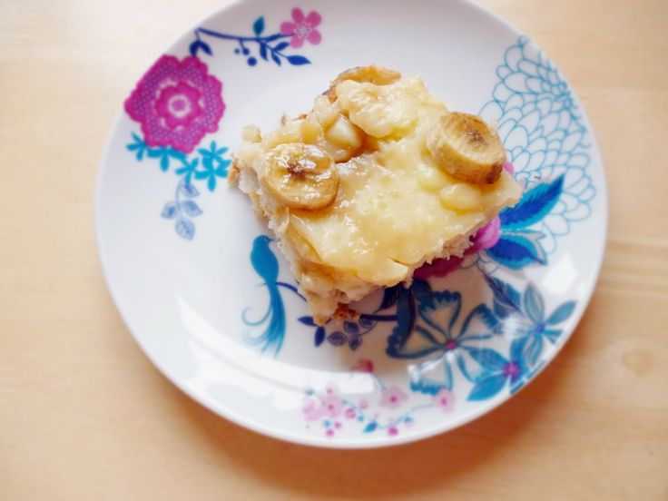 Cake Of The Week: Banana Bourbon Bread & Butter Pudding [Low Fat]