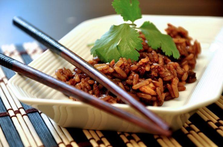Nutritivo y delicioso #arroz con jengibre y pollo ¡100% Saludable! #receta