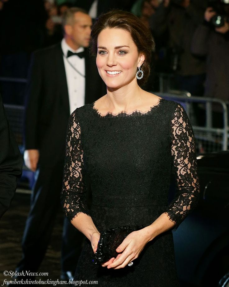 Kate Sets Heads Spinning in DVF For Royal Variety Performance