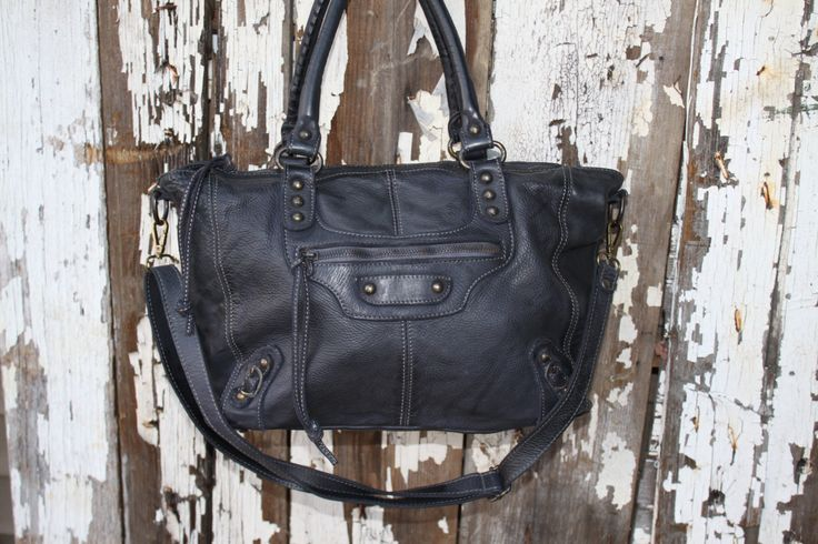 "Black Italian Leather Handbag ""Limited Edition"""