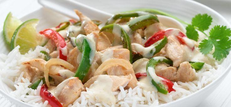 Philadelphia Philly Thai Green Chicken Curry