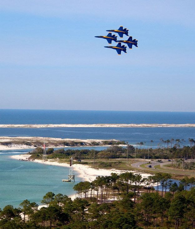 We're home to the world renowned U.S. Navy Blue Angels | 12 Reasons Visiting Perdido Key Changes Your Life