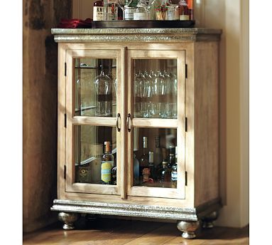 1000 images about sophisticated entertaining bar cart for Pottery barn poker table