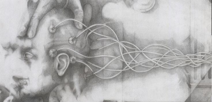 Alessandro De Michele, L'apparenza, matita su carta