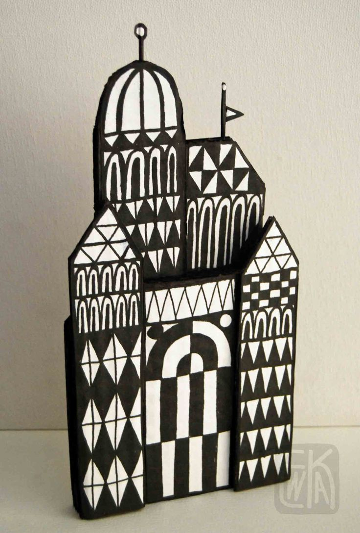 Winter Palace #cardboard #art