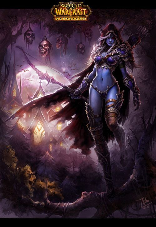 Sylvanas Windrunner #warcraft #legion #heroesofthestorm