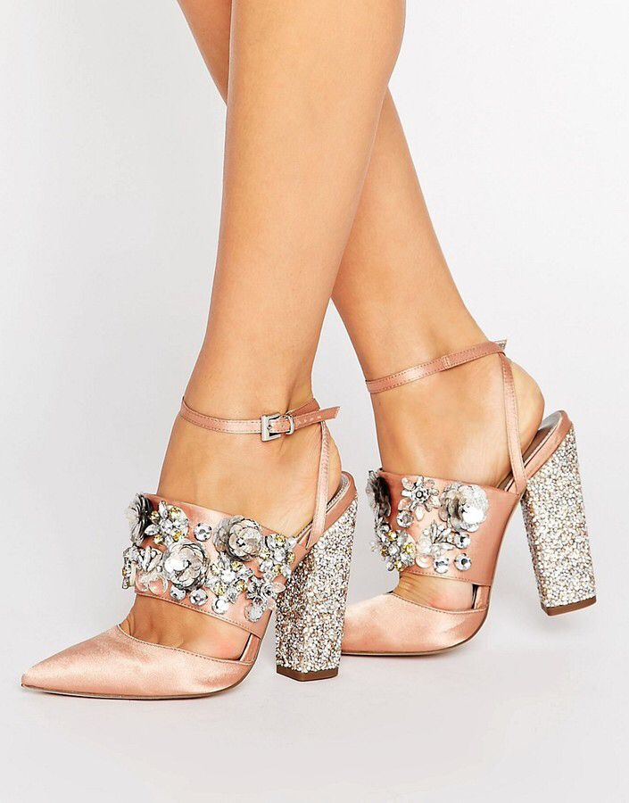 Bridal Embellished Heels