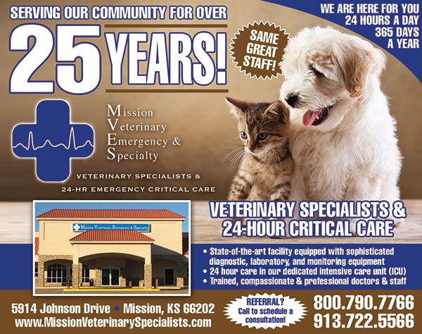 Mission Veterinary Emergency Specialty Ipetskc In 2020 Pet Emergency Emergency Hospital Veterinary