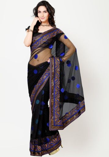 #Saree - #SAREES - #jabongworld #indianethnic #ethnic #indiansaree #adaa