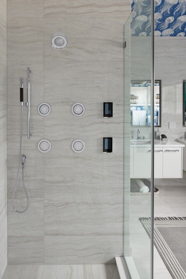 With Kohler S New Smart Showerheads And Digital Showering Customizing Your Shower Experience Elegant Bathroom Tub To Shower Conversion Easy Bathroom Upgrades