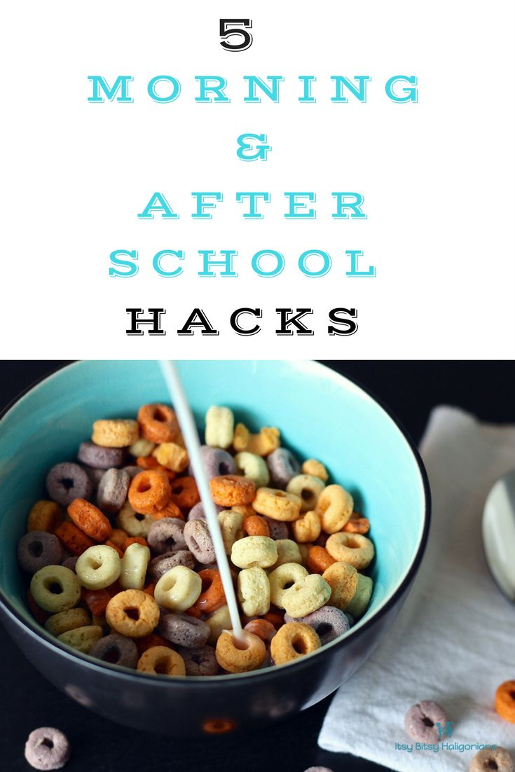 5 easy to implement morning and after school hacks to make your life easier