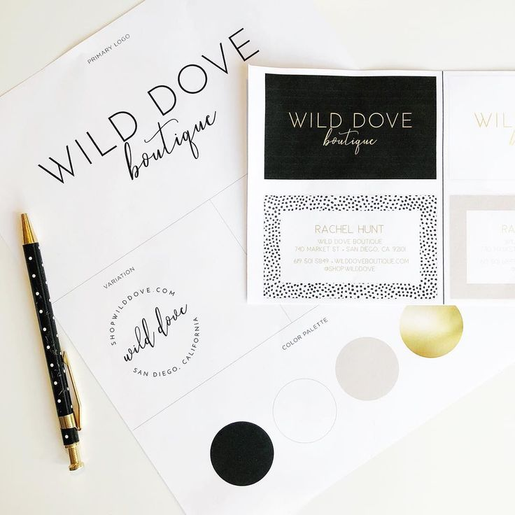 Loving the chic and simple style of our rebranding in process!   Wild Dove Boutique | San Diego, CA