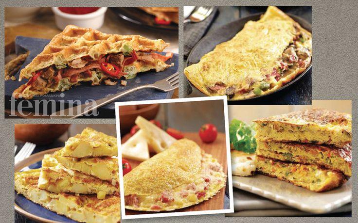 Olahan Omelette Untuk Variasi Sarapan