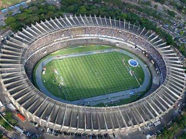 Mineirao Stadium Cruzeiro in Minas Gerais - Brazil