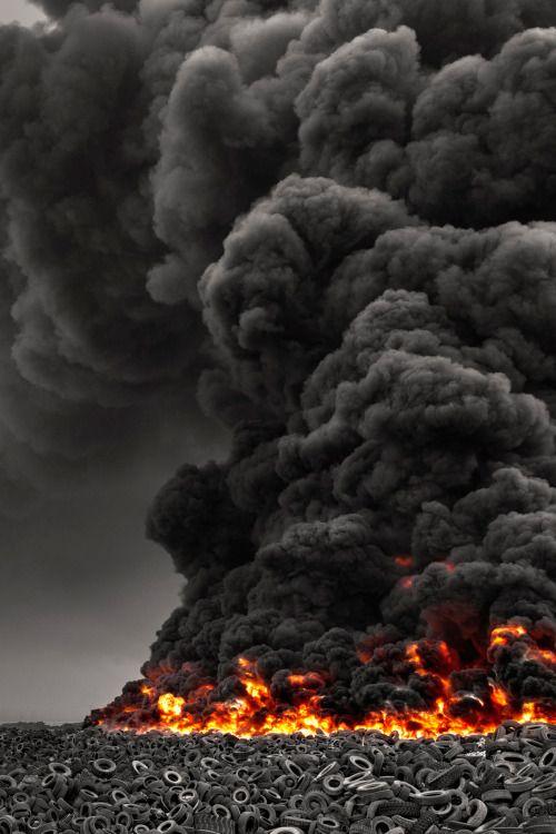 Kuwait Tire Fire // Mohammed Alsultan