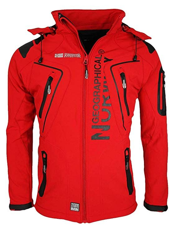 Geographical Outdoor Men's Water Softshell Norway Function Jacket O4Ofq