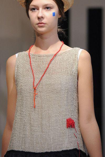 Daniela Gregis at Milan Fashion Week Spring 2016 - Livingly