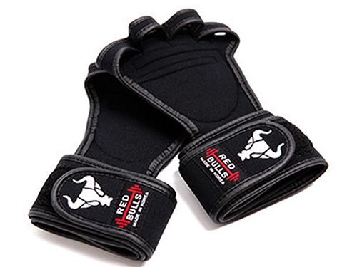 workout gloves-blacksilver