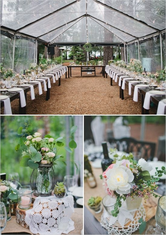 Best 25+ Outdoor Tent Wedding Ideas On Pinterest