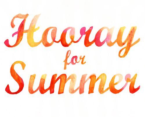 Hooray for Summer / Samantha Hahn Hooray for Summer / Samantha Hahn