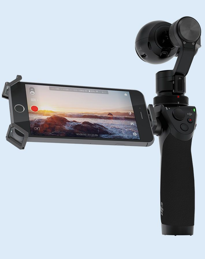 DJI Osmo promises motion without blur and action shots without shake. Perfect video even when you move. Thanks to advanced technologies specifically designed to keep the camera flat no matter how you move it, the DJI Osmo helps you record videos and take photos like never before. It is much more than just a camera. It helps you create with more freedom than ever. If it really works, this is the steadycam for the masses.