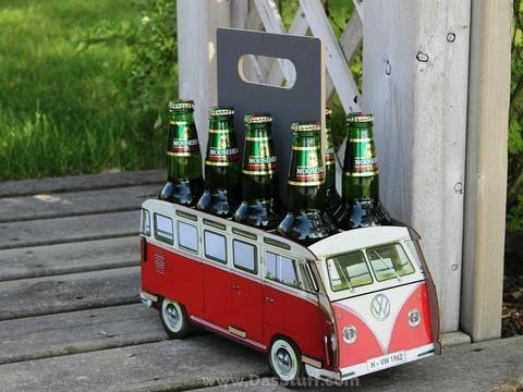 Das Stuff - Vintage VW Lifestyle Blog: Classic Volkswagen Bus Beer Caddy