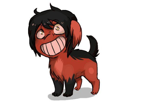 cute creepypasta   Smile pup.jpeg, Smile dog.jpeg as a puppy...so yeah, Smile pup :)