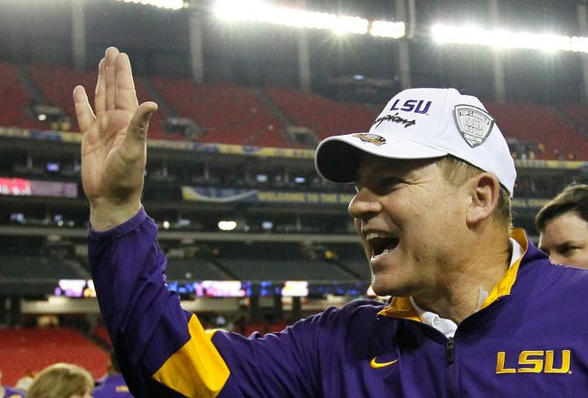 5 Funniest Les Miles Quotes ... love LSU but would LOVE Les Miles on the sidelines of The Big House!  goblue!