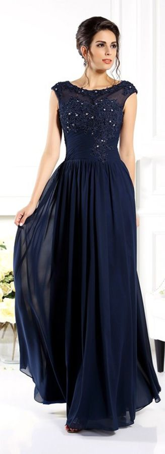 Beaded lace high neck mother of the bride dress