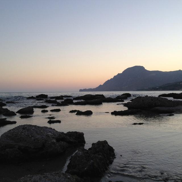 Plakias beach, Crete, Greece
