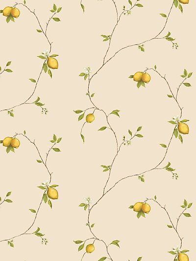 Buy Galerie Aquarius Lemons Kitchen Wallpaper, Yellow, G12081 online at JohnLewis.com - John Lewis