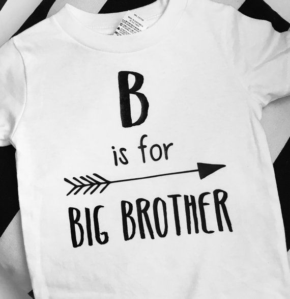 B is dor Big Brother toddler shirt by ChloeNCachesCloset on Etsy