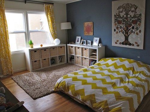 chambre montessori pour b b les grands principes montessori. Black Bedroom Furniture Sets. Home Design Ideas