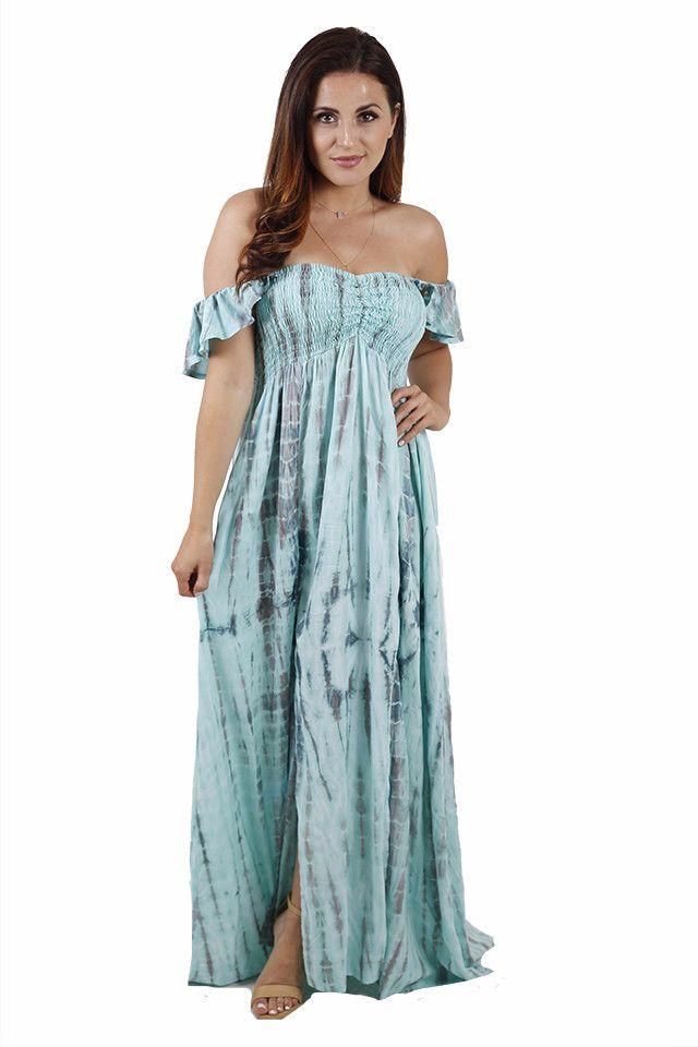 Dream Goddess Tie Dye Maxi Dress
