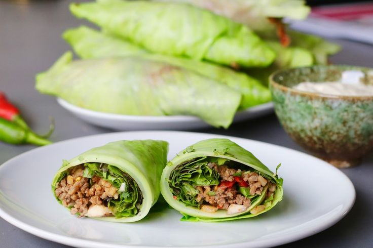 Koolburrito's met sla en pittig gehakt | Beaufood | Bloglovin'