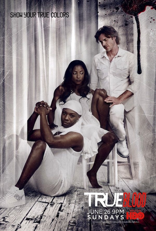 True Blood ~ Sam and Lafayette are my favorite characters!