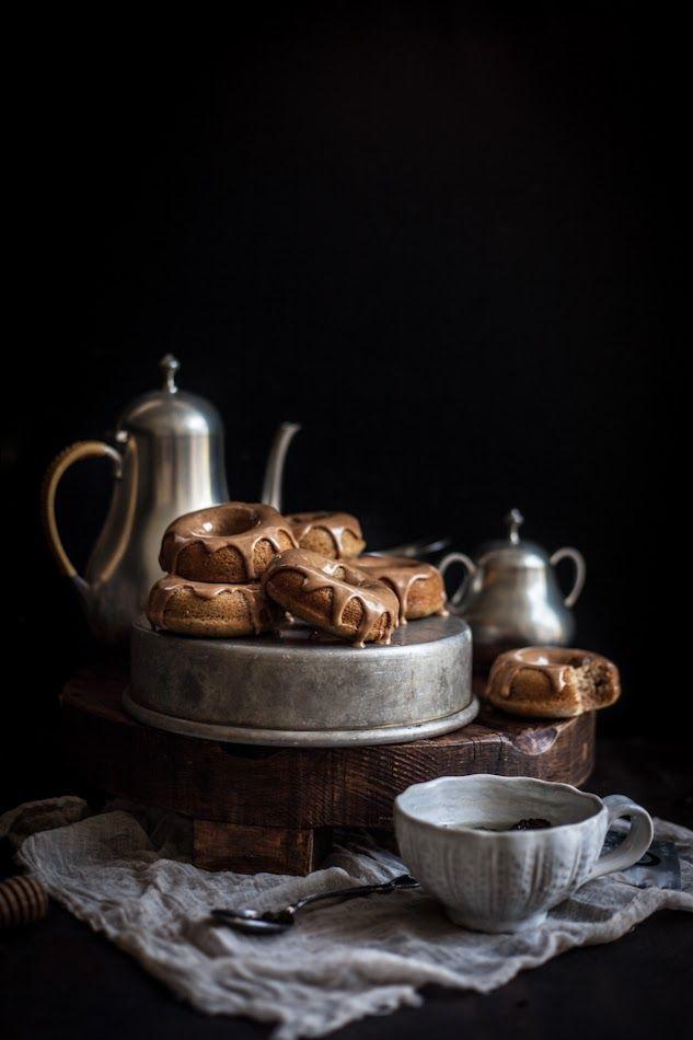 Oolong Donuts with Milk Tea Glaze