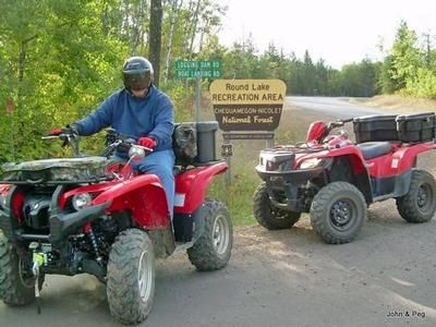 St. Germain ATV Club - There is a new resurgence in the ATV/UTV sports arena, and it's making it's way to the Northwoods of Wisconsin.  We are a young organization working hard to make trails available to you for enjoyment and excitement. Being able to travel great distances with your ATV/UTV is now in Vilas County, WI coming to the Town of Saint Germain in just around the corner…..Our club is also a member of the Alliance of Vilas County ATV Clubs and Wisconsin ATV Association.