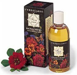 """Fiori Scuri (Dark Flowers) Bath Foam by L'Erbolario Lodi by L'Erbolario Lodi. $24.85. Fiori Scuri is the """"Dark Flowers"""". They are deep red, purple, blue and violet, or rather roses, hyacinths, irises and carnations brought together to create a single, sumptuous bouquet, offering a chance to discover the subtle and seductive notes of the most mysterious and enticing flowers. Fiori Scuri Bath Foam with Iris extract creates an extraordinarily enveloping foam which, than..."""