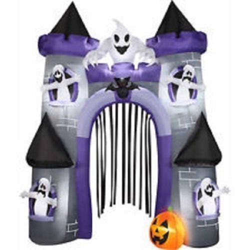halloween outdoor inflatable haunted house creepy fun - Outdoor Inflatable Halloween Decorations