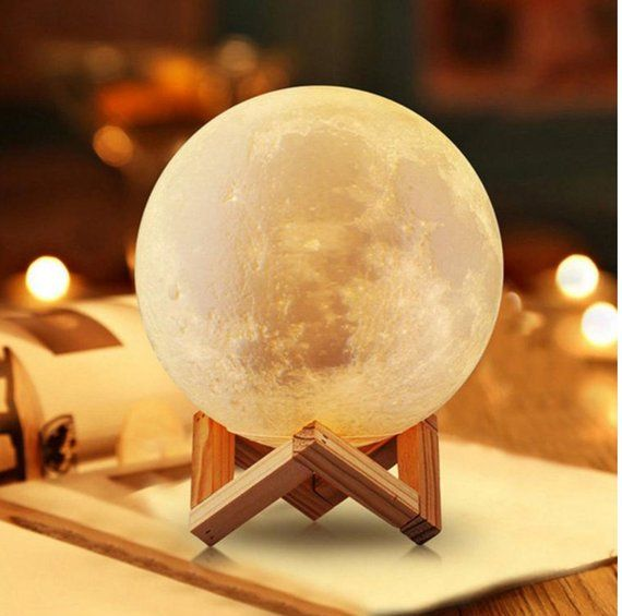 Moon Lamp Bedside Lamp Moonlight Light Home Decor Color Change Led Moon Lamp Night Light 3d Lamp Gift For Her Decor C Moon Light Lamp Lamp Decor Touch Lamp