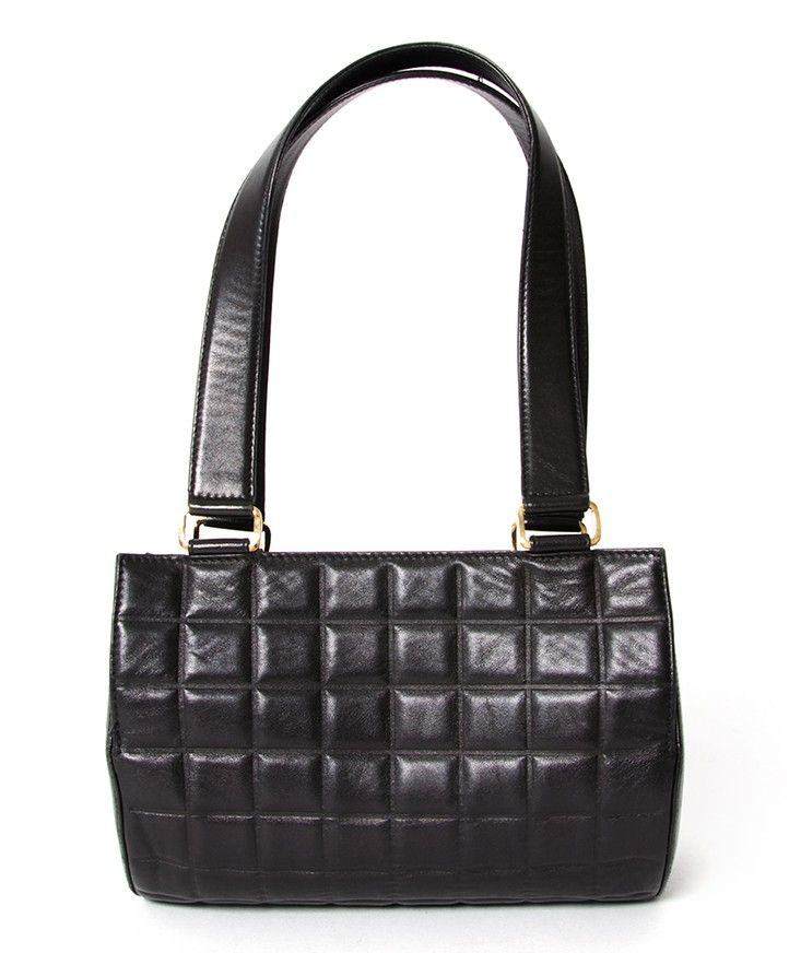 69e757069a Chanel Black Cylinder bag | It's CHANel | Leather handbags, Chanel ...