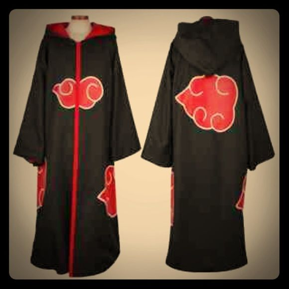 Naruto Itachi Anime Costume Only 3 Hours Old