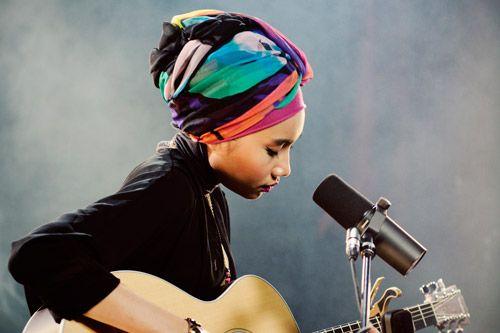 Malaysian singer Yuna.