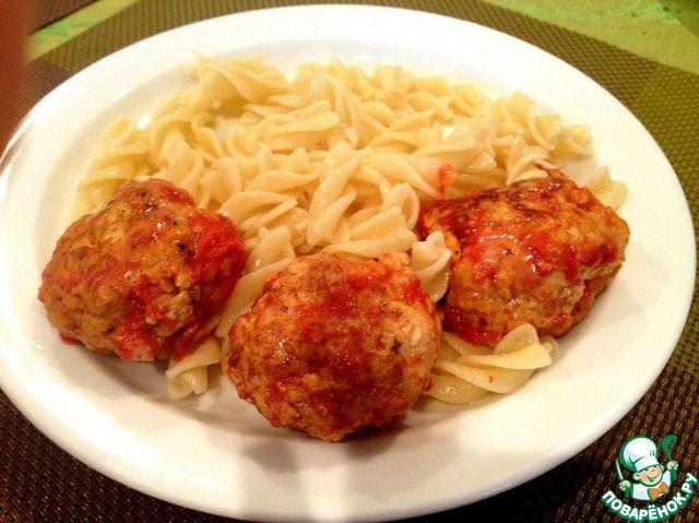 Тефтели из индейки в томатном соусе с сыром моцарелла ингредиенты
