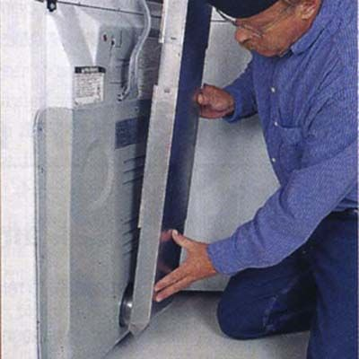 HOW TO UPGRADE A DRYER VENT: Step #3 - Attaching The Dryer Vent Periscope - This Old House